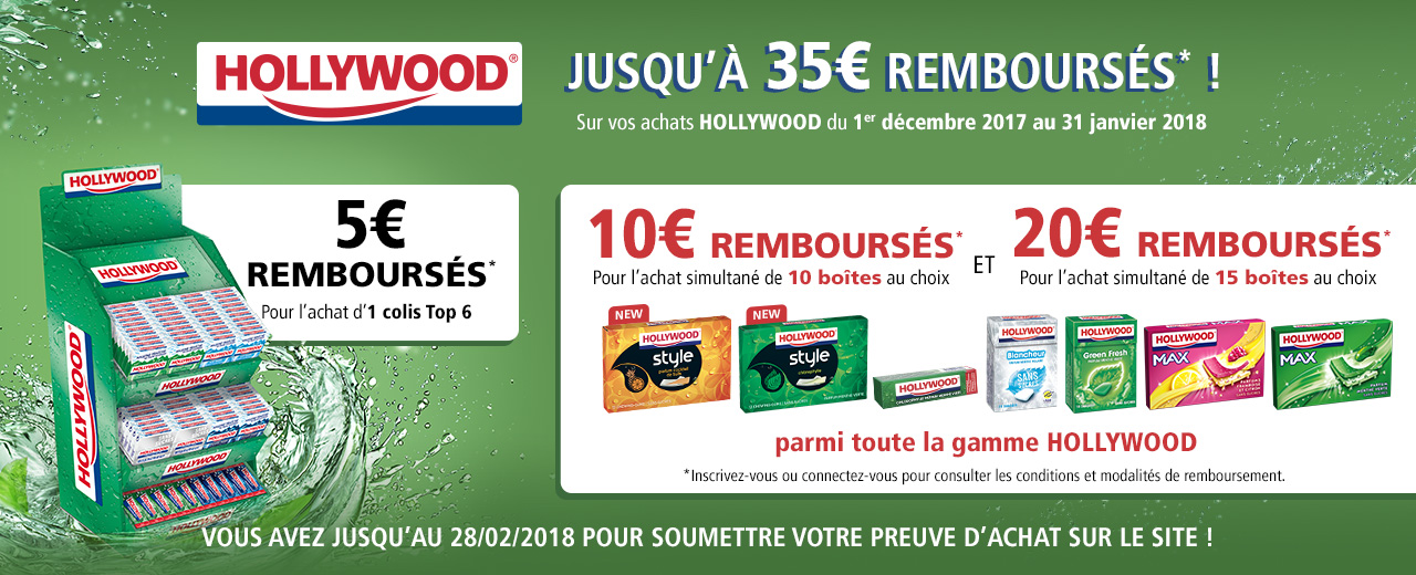 promotions - chewing - gum - Hollywood - mondelez - pro - colis
