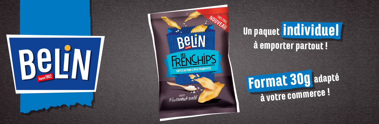 Actualité - chips - belin - frenchips - nouveau - format - 30g