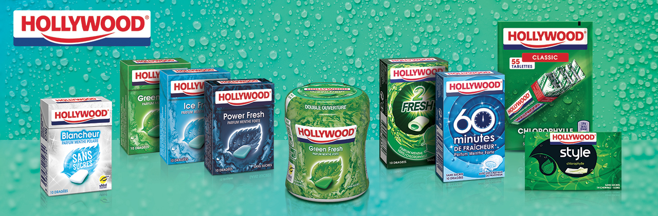 Actualité - chewing - gum - hollywood - redesign - peau - neuve