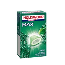 produits - chewing - gum - hollywood - max - menthe - verte
