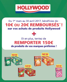 Promotions - Chewing gum - Hollywood -max
