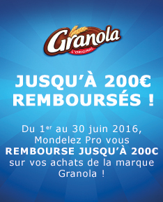 Promotions - chocolat - biscuits - gateaux - granola